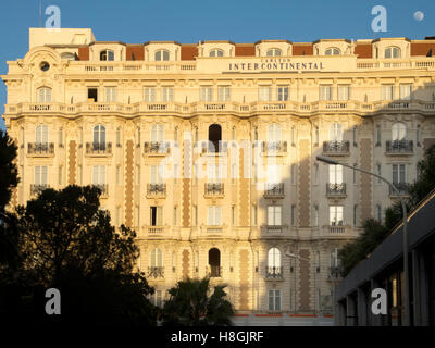 Frankreich, Cote d Azur, Cannes, Hotel Carlton Intercontinental - Stock Photo