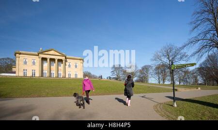 Roundhay Park in Leeds - Stock Photo