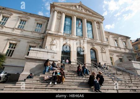 Frankreich, Cote d Azur, Nizza, Justizpalast ( Palais de Justice) - Stock Photo