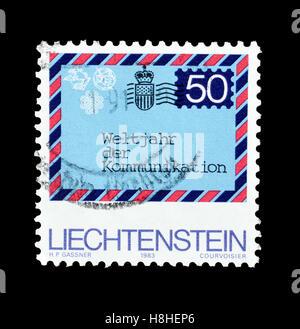 Liechtenstein stamp 1983 - Stock Photo