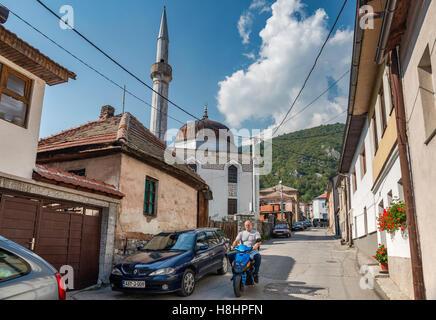 Varoska Mosque in Travnik, Bosnia and Herzegovina - Stock Photo