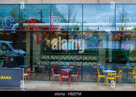 'Cabana' restaurant in Manchester City centre, Manchester, UK. - Stock Photo