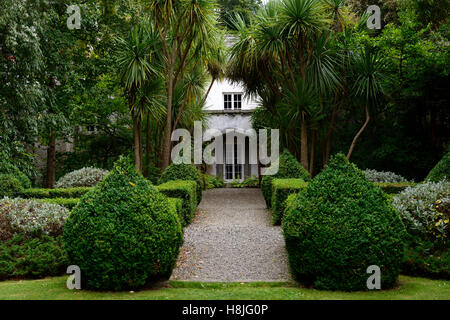 Box hedge topiary parterre clipped neat hedging garden design