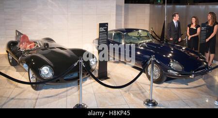 Los Angeles, USA. 14th Nov, 2016. Atmosphere at the Next Era Jaguar Vehicle Unveiling Event at Milk Studios on November - Stock Photo