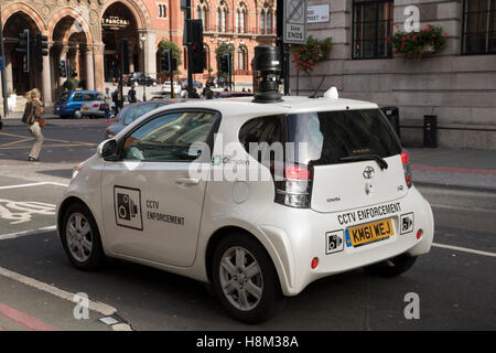 Borough of Camden, London CCTV traffic enforcement car, with camera on top - Stock Photo