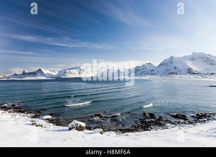 Lofoten Islands, Norway - Stock Photo