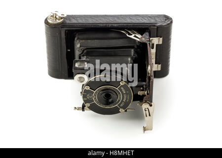 Kodak vest pocket model B vintage camera, produced by the Eastman Kodak  company 1925 - 1934 - Stock Photo