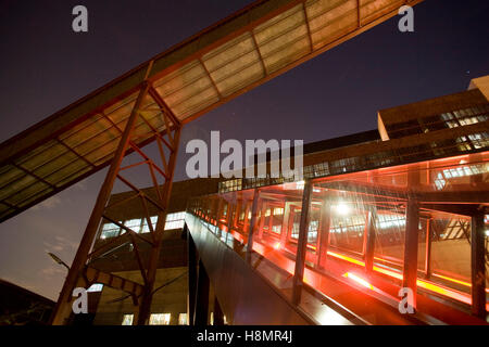 Germany,  Ruhr Area, Essen, industry monument Zeche Zollverein, shaft XII, on the right the escalator to the visitor - Stock Photo