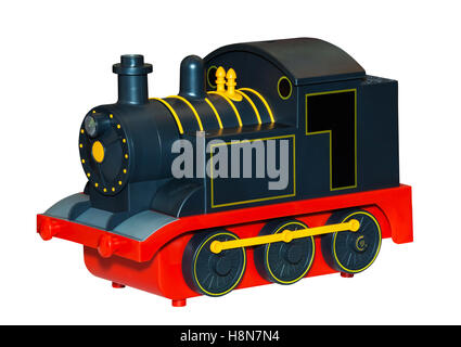 Kids train toy - Stock Photo
