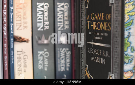 which is the first game of thrones book