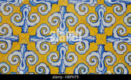 Colourful Spanish tiles - Stock Photo