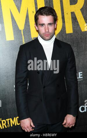 New York, USA. 15th Nov, 2016. Christian Cooke at 'The Art Of More' Season 2 Premiere at The Museum of Arts and - Stock Photo