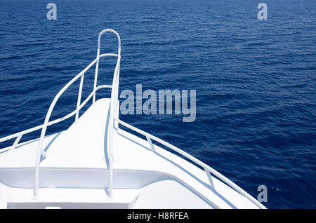 Sailing boat in red sea - Stock Photo