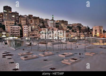 Capitol of Jordan - Amman. - Stock Photo