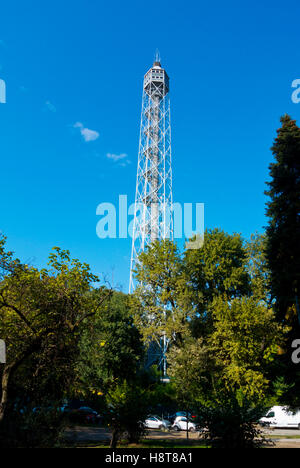 Torre Branca, Parco Sempione, Milan, Lombardy, Italy - Stock Photo
