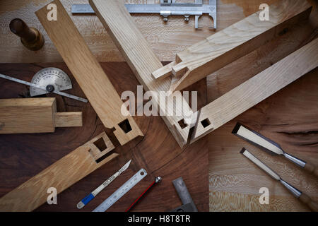 ... Detail Of A Cabinet Makers Bespoke Joinery   Stock Photo