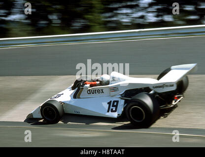 1976 GERMAN GP ALAN JONES DUREX SURTEES - Stock Photo