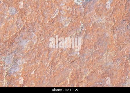 natural 'scaglia rossa' red limestone, Italy - Stock Photo