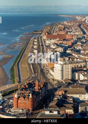 Metropole Hotel, North seafront, Blackpool, Lancashire, UK. - Stock Photo