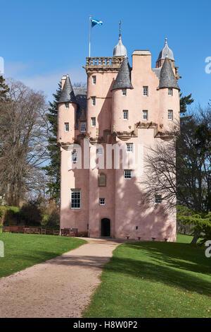 Craigievar Castle, Aberdeenshire, Scotland - Stock Photo