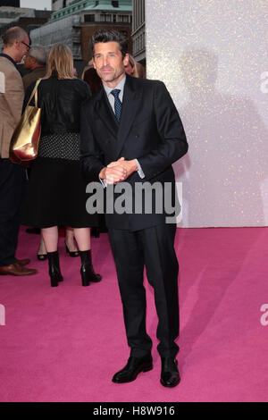 Patrick Dempsey attends Bridget Jone's Baby film premiere London on 05 Sep, 2016 - Stock Photo