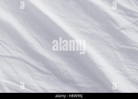 bed sheets texture. Crumpled Bed Sheets Texture, Top View Of Used - Stock Photo Texture