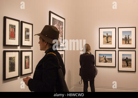 London, UK. 16 November 2016. Press preview of the Taylor Wessing Photographic Portrait Prize 2016 at the National - Stock Photo