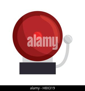 ring school alarm icon vector illustration design - Stock Photo