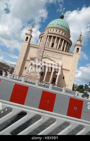 Nikolaikirche in Potsdam, Germany - Stock Photo