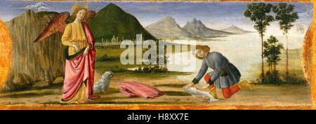 DAVIDE GUIRLANDAIO - Tobias and the Angel - 1479 - Stock Photo