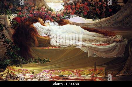 Thomas Ralph Spence   The Sleeping Beauty - Stock Photo