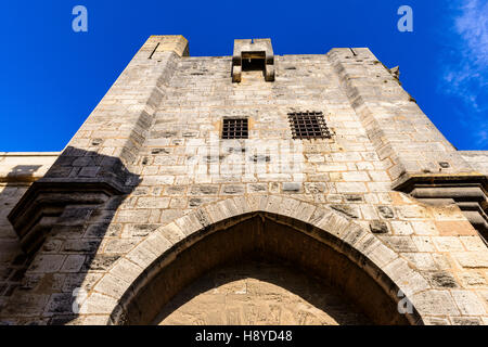 Les Remparts Aigues-Mortes,Camargue - FRANCE - Stock Photo