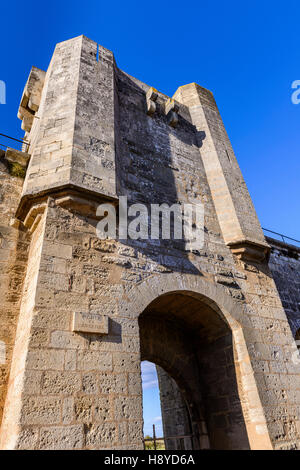 Les Remparts Aigues-Mortes,Camargue FRANCE 30 - Stock Photo