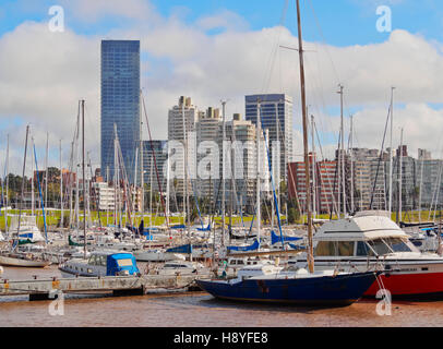 Uruguay, Montevideo, Little Port in Buceo Neighbourhood. - Stock Photo