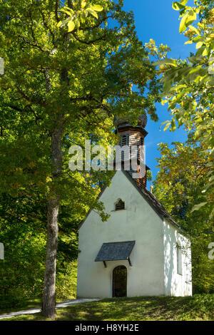 Prayer chapel on the grounds of Linderhof Palace, Ettal, Bavaria, Germany - Stock Photo