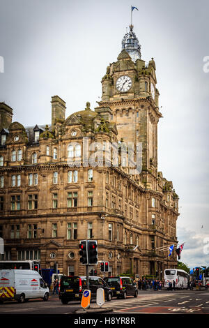 Balmoral Hotel, Edinburgh, Scotland, United Kingdom - Stock Photo