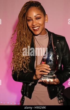 New York, NY, USA. 16th Nov, 2016. Meagan Good at the Sixth Annual WEEN Awards at ESPACE on November 16, 2016. Credit: - Stock Photo