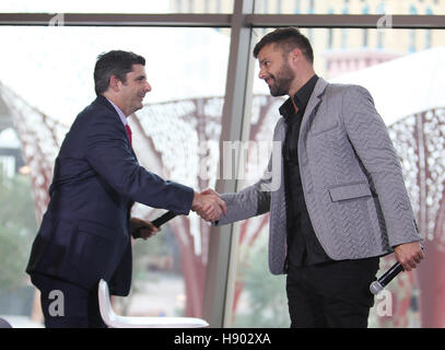 Las Vegas, NV, USA. 16th Nov, 2016. Ricky Martin attends a news conference announcing his residency at The Park - Stock Photo