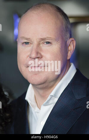 David Yates attends the European premiere of 'Fantastic Beasts And Where To Find Them' at Odeon Leicester Square - Stock Photo
