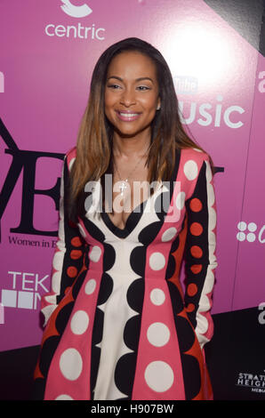 New York, NY, USA. 19th Oct, 2016. Valeisha Butterfield-Jones attends the sixth annual WEEN awards to honor women - Stock Photo