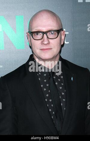 New York, NY, USA. 17th Nov, 2016. Chad Thompson at HBO Documentary Films New York Premiere of 'THE TRANS LIST' - Stock Photo