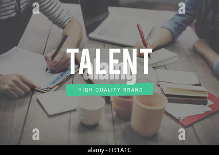 Talent Skill Abilities Expertise Quality Concept - Stock Photo
