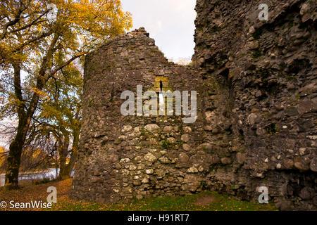 Old Inverlochy Castle - Stock Photo