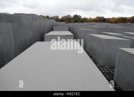 Memorial to the Murdered Jews of Europe in Berlin, Germany, Europe, EU   KATHY DEWITT - Stock Photo