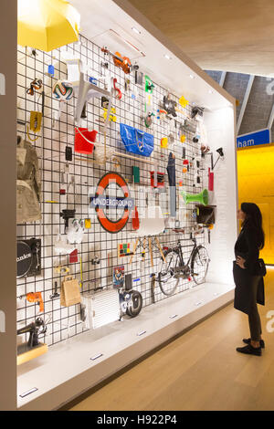 London, UK. 17 November 2017. Press preview. The Design Museum opens in its new home on Kensington High Street, - Stock Photo