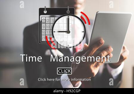 Time Management Organizer Plan Reminder Concept - Stock Photo