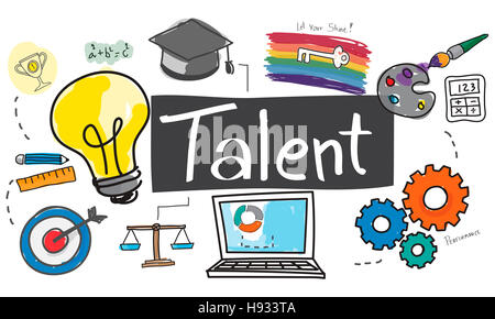 Talent Occupation Abilities Capacity Expertise Concept - Stock Photo