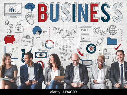 Business Development Organization Strategy Concept - Stock Photo