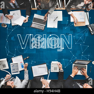 Vision Visibility Observable Noticeably Graphic Concept - Stock Photo