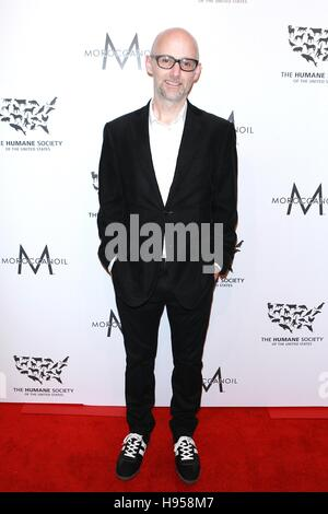 New York, NY, USA. 18th Nov, 2016. Moby at The Humane Society of the United States 2016 To the Rescue! At Copriani - Stock Photo